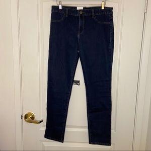 Dark wash Calvin Klein Jean legging NWT